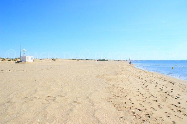 Ventes de denrées sur les plages